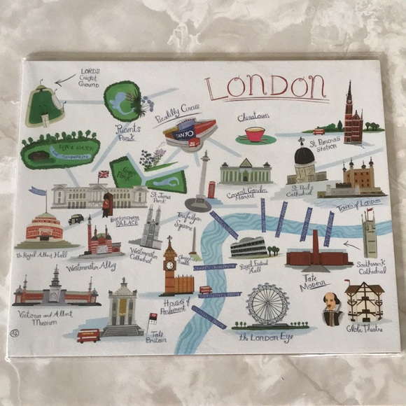 Paper Destiny Other - London Art Print NWT